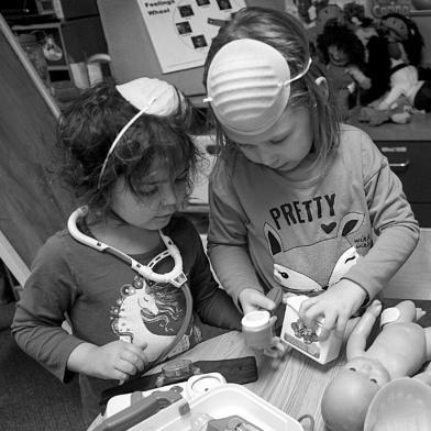 Children at PEEC