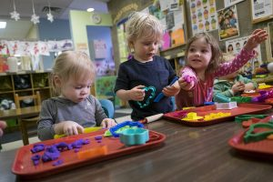 Kids at Pillsbury Early Education Center