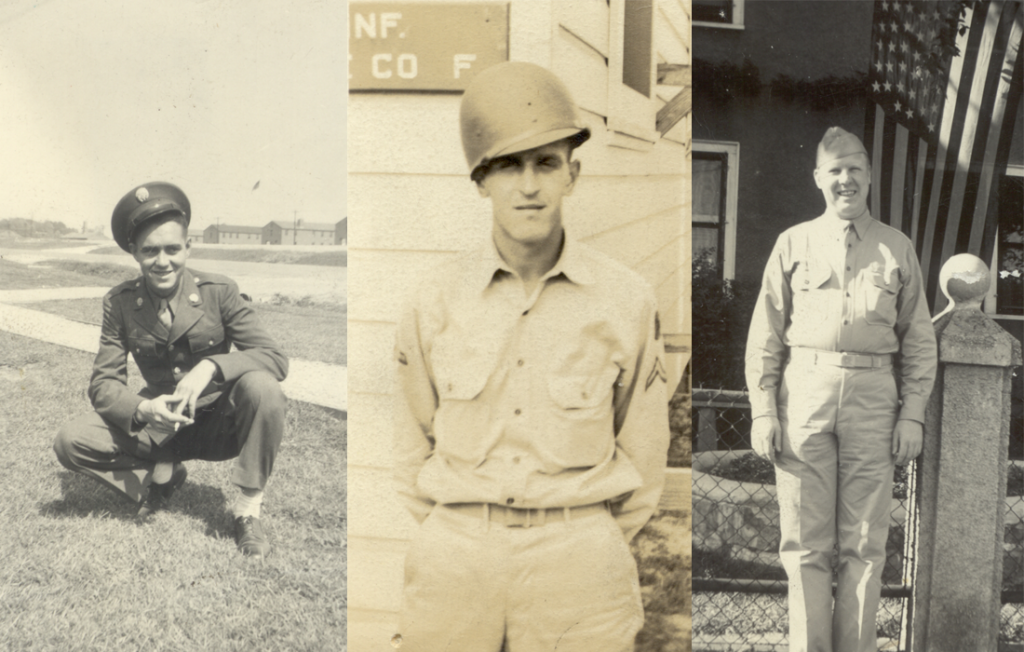 Photos of Pillsbury House community members in the armed services